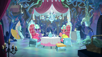 Stepford Ponies look at Smolder S8E22