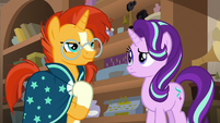 Sunburst -the Earth ponies of the Mighty Helm- S7E24
