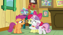 "Sweetie Belle ""just hang out with us"" S9E12"