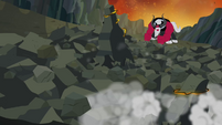 Tirek smashes the ground S4E26