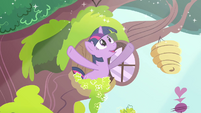 """Twilight """"morning in Ponyville shimmers"""" S03E13"""