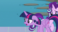"Twilight Sparkle ""the school was a disaster"" S8E2"