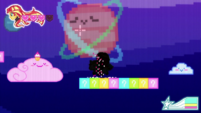 8-bit Sunset loses one heart of health CYOE12a