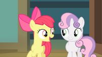 Apple Bloom 'Three kinds of ponies livin' together as friends' S4E05