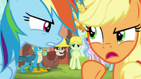 """Applejack """"gets things done right!"""" S8E9"""