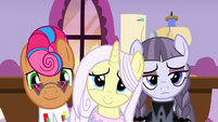 Contest ponies touched by Applejack's words S7E9