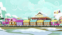 Friendship Express pulls into the station MLPBGE