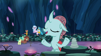 """Ocellus """"reflect on the Tree's true gift"""" S9E3"""