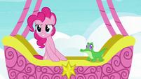 "Pinkie Pie ""friendship ambassador road trip game!"" S7E11"
