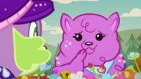 Princess Thunder Guts looks embarrassed CYOE14b