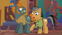 "Quibble ""I don't know who I'm reporting you to"" S6E13"
