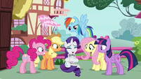 """Rarity """"I don't know what to say!"""" S7E19"""