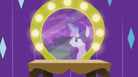 Rarity more frustrated with Coloratura S5E24
