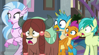 Students shocked by Ocellus' Rarity impression S8E1