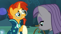 Sunburst confused by Maud's comedy remark S7E24