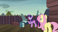 """Twilight """"what do you do when you're not fighting?"""" S5E23"""