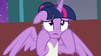 "Twilight Sparkle ""sorry, it's just"" S7E10"