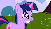 Twilight Sparkle Awkward Smile S1E1