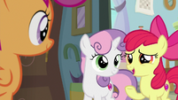 "Apple Bloom ""really cool they watch you"" S9E12"