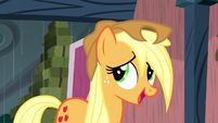 "Applejack ""wish they would've warned us about this rainstorm"" S5E6"
