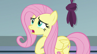 Fluttershy crying tears of disappointment S9E24