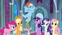 """Rainbow Dash """"we get all your powers"""" S9E1"""