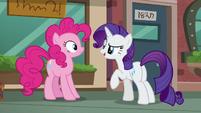 "Rarity ""That way Maud won't get suspicious!"" S6E3"