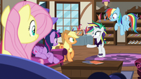 """Rarity """"glad I have all of you to remind me"""" S7E19"""
