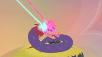 Tatzlwurm hit by double magic S4E11