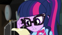 Twilight Sparkle looks at visitor schedule EGS2