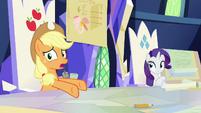 "Applejack ""bushel and a peck of impenetrability"" S9E4"