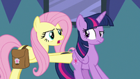 """Fluttershy """"I've got a route all planned out"""" S7E20"""
