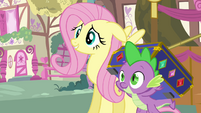 Fluttershy agrees to help out S03E13