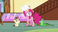 Pinkie -I have to keep the exciting news- S5E19