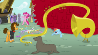 """Pinkie Pie """"the goof-off is off!"""" S4E12"""