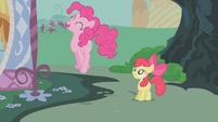 Pinkie Pie jumps high S1E12
