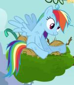 Rainbow Dash derpy eyes crop S4E04
