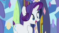 """Rarity excited """"are you sure?"""" S9E19"""