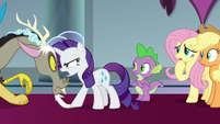 Rarity getting mad at Discord S9E24