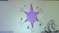 S5E25 animatic - Slide of Twilight's cutie mark