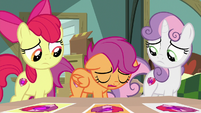 Scootaloo lowers head in defeat again S9E12