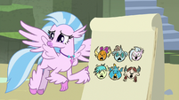 Silverstream's drawing of the Young Six S9E3