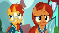 Sunburst getting very annoyed at his mother S8E8