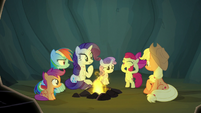 Apple Bloom getting super-excited S7E16