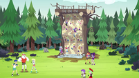 Celestia and campers feeling the earth quake EG4