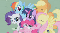 Main ponies together S01E02