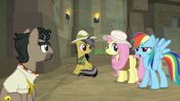"""Rainbow """"not sure how I feel about that"""" S9E21"""