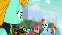 Rainbow -that rope's about to coil around- S8E20