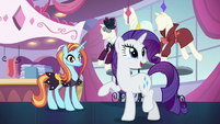 """Rarity """"it was nothing"""" S5E15"""
