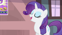 Rarity 'Sounds like a perfect drama-free' S4E11